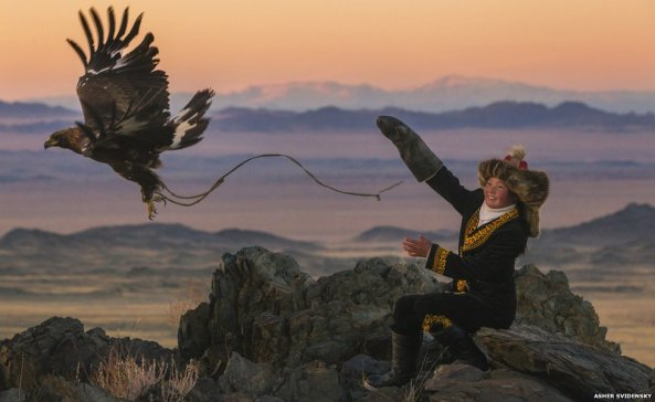 Ashol Pan, 13-year-old Eagle Huntress , Mongolia II