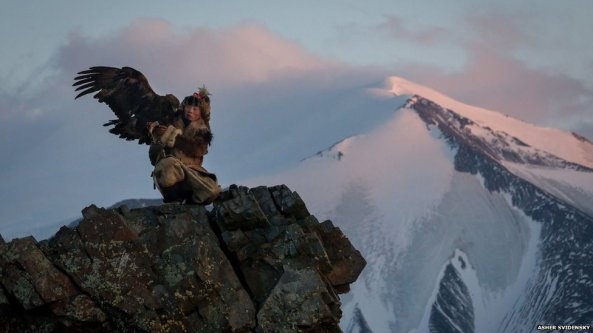 Ashol Pan, 13-year-old Eagle Huntress , Mongolia III