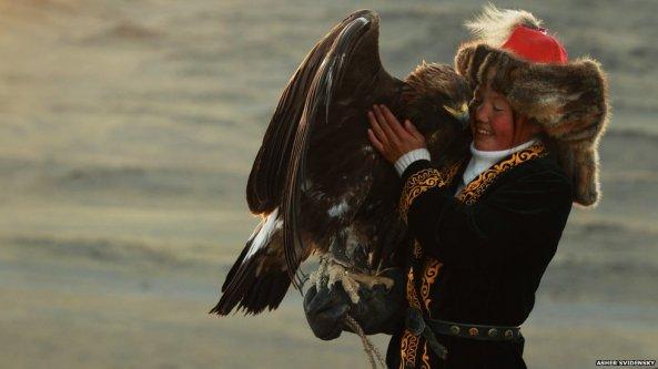 Ashol Pan, 13-year-old Eagle Huntress , Mongolia VI