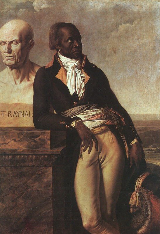 Belley, with the bust of the philosophe Raynal, by Girodet