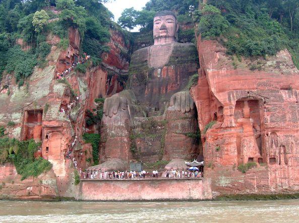 Giant Leshan Buddha