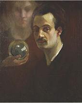 Kahil Gibran (Self-Portrait)