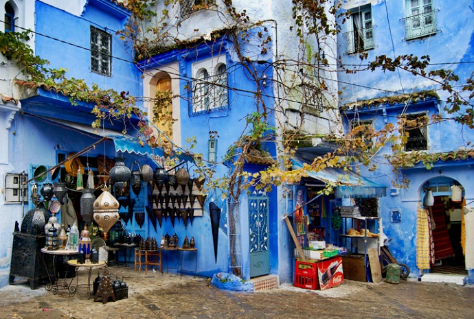 Global Spotlight Chefchaouen Morocco Sarvodaya