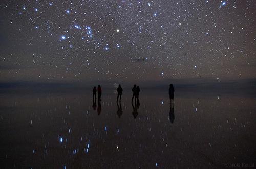 Salar de Uyuni (Night), Bolivia II