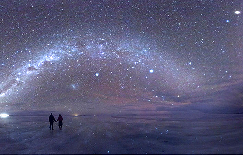 Salar de Uyuni (Night), Bolivia