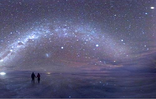 Salar de Uyuni (Night), Bolivia