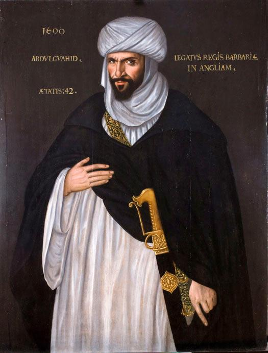 Abd el-Ouahed ben Messaoud ben Mohammed Anoun, Moorish ambassador to Queen Elizabeth I in 1600, sometimes suggested as the inspiration for Othello.