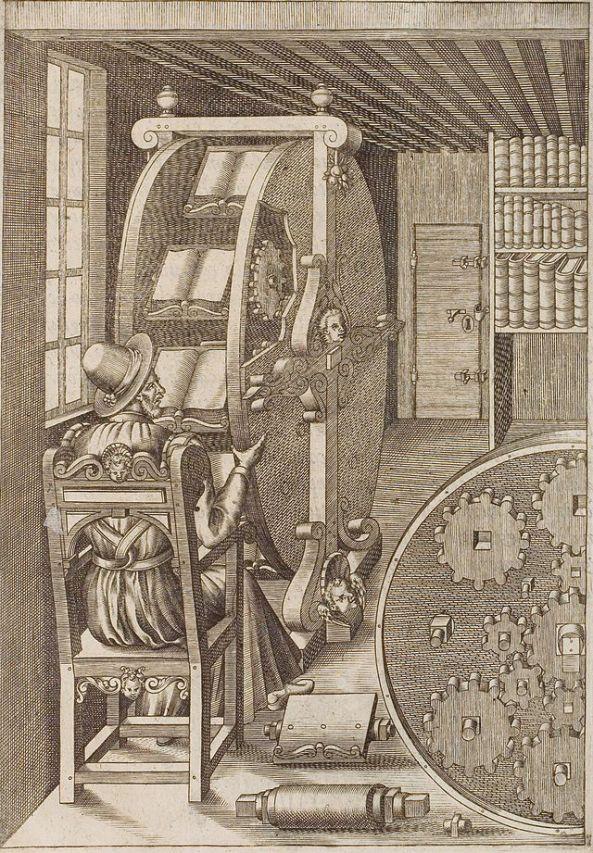 Bookwheel (Agostino Ramelli)