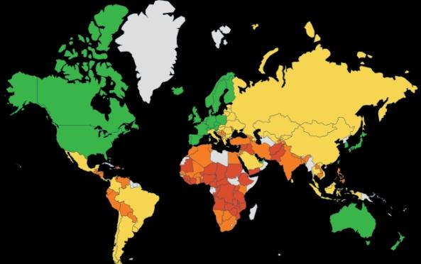 2015 Prosperity Index. Legatum Institute / Prosperity.com.